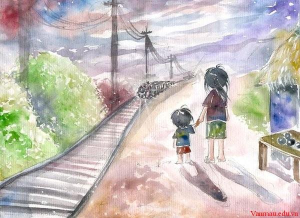 Phân tích tâm trạng của nhân vật Liên trong truyện ngắn Hai đứa trẻ