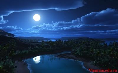 moon 28 - Tả một đêm trăng đẹp