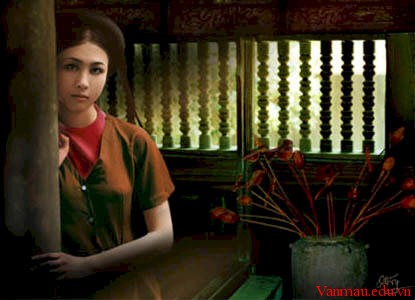 nho ht34 - Hình tượng người phụ nữ trong Tự tình II và Thương vợ