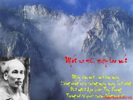1370ews - Phân tích bài thơ Mới ra tù tập leo núi của Hồ Chí Minh