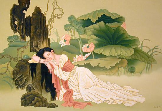 phan tich bai tho tu tinh 2 cua ho xuan huong hay nhat - Phân tích bài thơ Tự Tình 2 của Hồ Xuân Hương hay nhất
