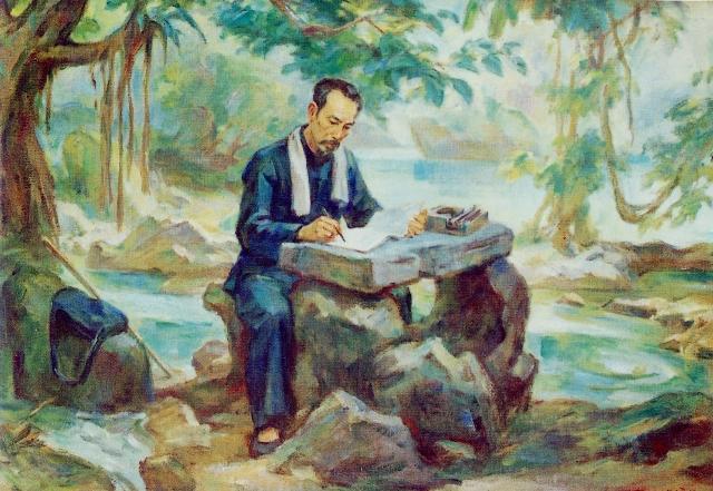 Phân tích bài thơ Tức Cảnh Pác Pó của Hồ Chí Minh